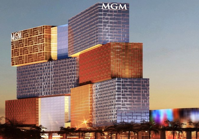 This is a visualisation for a potential future building project for MGM